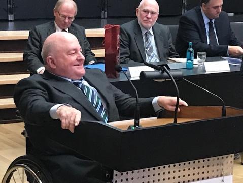 Dr. Andreas Jürgens als Erster Beigeordneter des Landeswohlfahrtsverbandes wiedergewählt